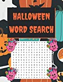 Halloween Word Search: 8,5 x 11 - 50 pages, Halloween Word Search Puzzels for Adults and Teens, a Beautiful Halloween Themed Word Search