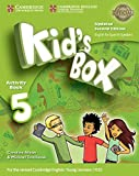 Kid's Box Level 5 Activity Book with CD ROM and My Home Booklet Updated English for Spanish Speakers